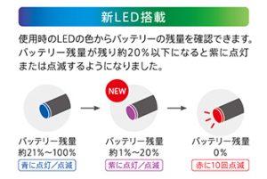 新LED搭載