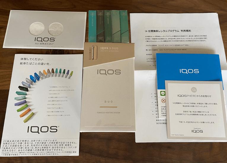 iQOS専用のスティック5パック